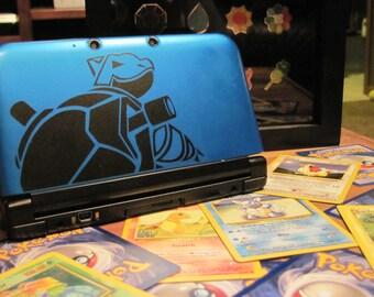 Blastoise 3DS XL Decal
