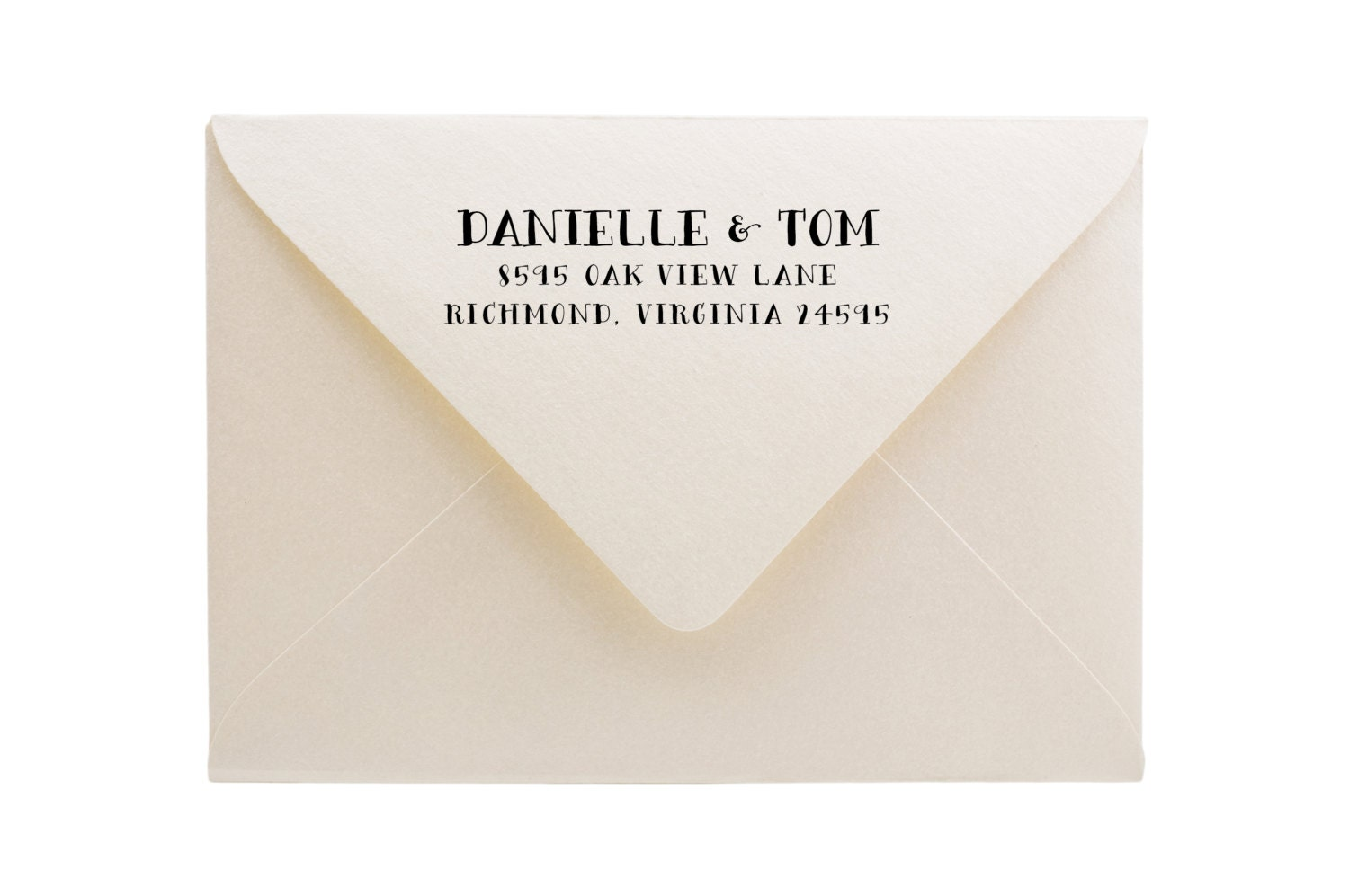 Personalized Stamps For Wedding Invitations: Wedding Stamp Custom Return Address Stamp Wedding Invitation