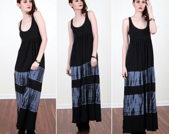 SALE!! Tie Dye Cotton Maxi Dress