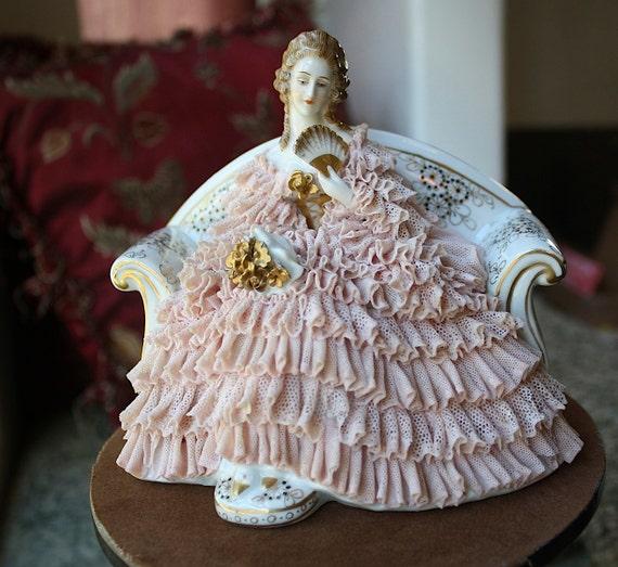 Muller-Volkstedt Dresden figurine