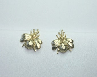 Bumble bee, honey bee earrings