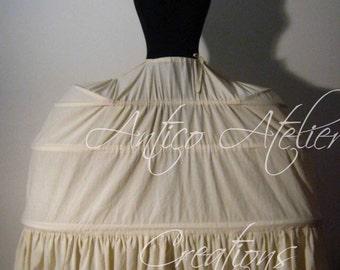 18 century grand PANIER- undergarments XVIIIsec, marie Antoinette style