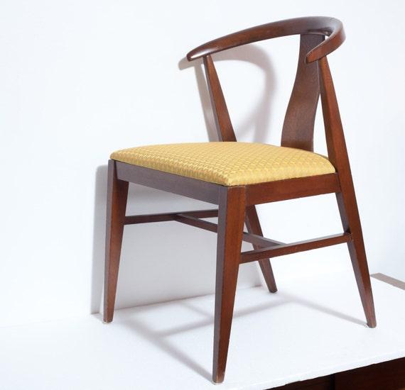 Sculpted Teak Mid Century Modern Chair Danish By HiBrowModern