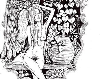 Original artwork  - 'Inner Goddess l'