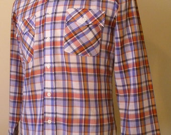 Vintage Genuine Roebucks Button Down Shirt