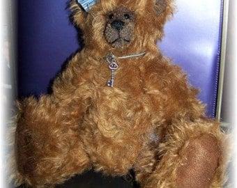 Miss Molly OOAK Mohair Teddy Bear