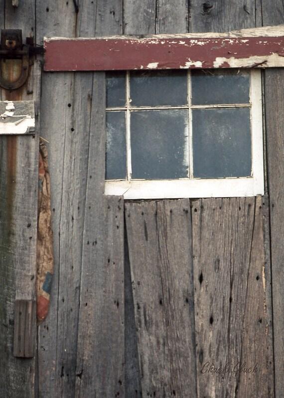 Barn Door Window, Rustic Old Barn Window, Window on Barn Door, Rustic Photo Art, Old Barns, Old Barn Window, Wall Decor Photos