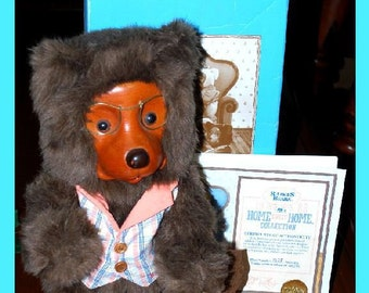 Raikes Bear - Jason from the Home Sweet Home Collection, MIB
