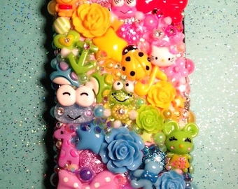 Custom Kawaii Decoden Case for Cell Phone