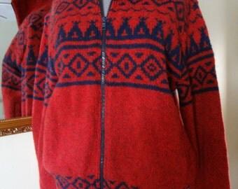 TEN DOLLAR SALE! Cozy Wool Blend Zip Front Sweater from LLBean