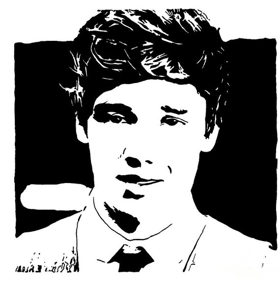 Items similar to Liam Payne One Direction Pop Art Drawing ...