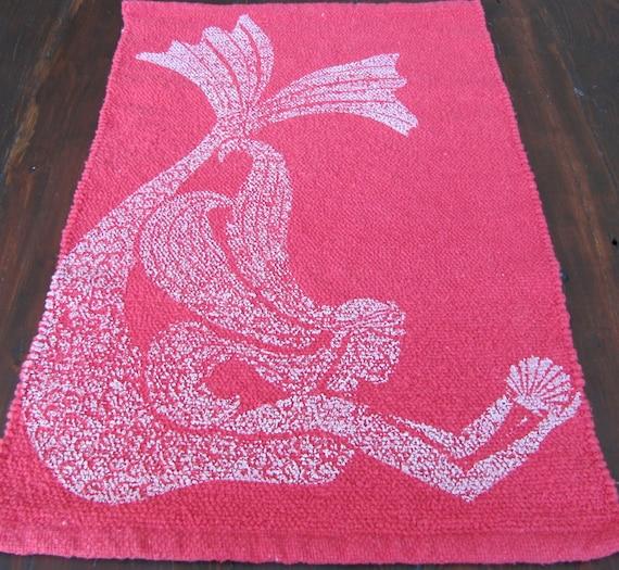 Mermaid Rug Home Decor