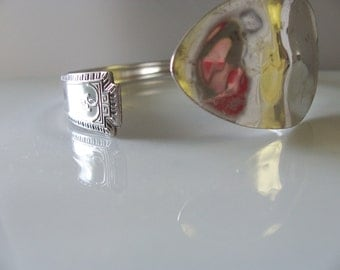 Antique Silver-plate cuff Pattern Viceroy One/Lady Fair 1930