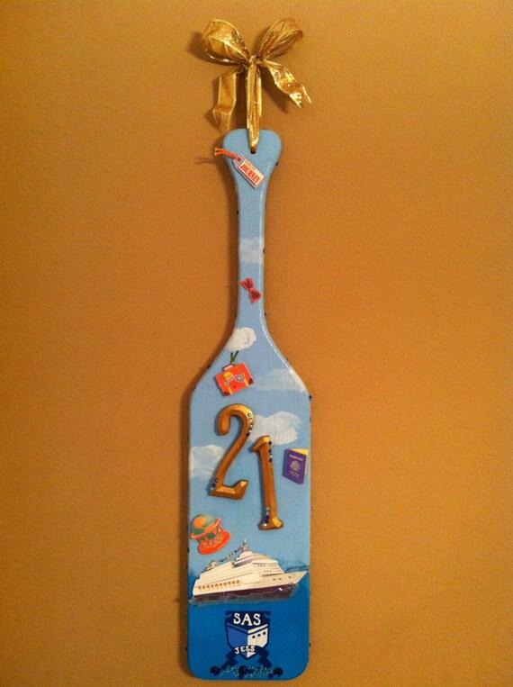 Custom Painted Paddles