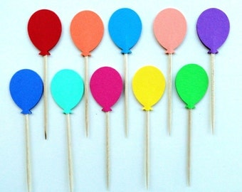 Popular items for balloon cake topper on Etsy