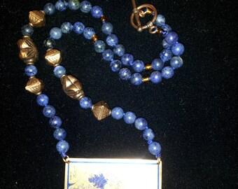 Lapis Lazuli and Copper Necklace