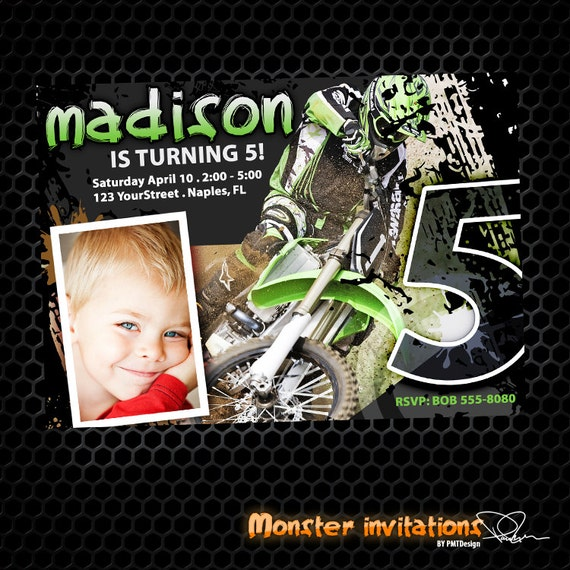 Monster Birthday Party Invitations for best invitation design