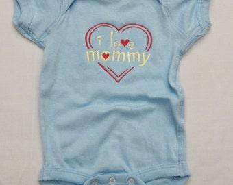I Love Mommy Onesie