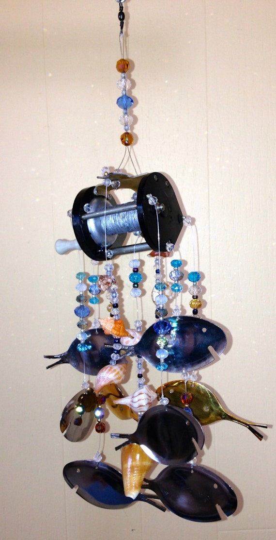 Fishing Themed Wind Chime