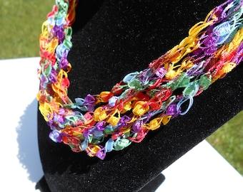 Trellis Necklace / Crochet Necklace Item No. 114