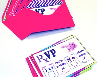 Toy Doctor RSVP Printable Cards