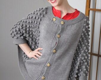 El Matador Cape Knitting Pattern