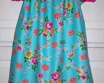 Peasant Dress, Floral Dress, Short Sleeve Dress, Girls Dresses, Summer Dresses, Jennifer Paganelli,Happy Land, Dress with Flowers