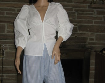 2pc Female Renaissance Pirate or Colonial POTC Jack Sparrow breeches pants and shirt ORIGINAL PRICE 90.00