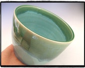 Zen Style Beautiful Turquoise and Green Bowl/Planter by misunrie