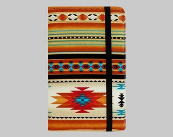Kindle Cover Hardcover, Kindle Case, eReader, Kobo, Kindle Voyage, Kindle Fire HD 6 7, Kindle Paperwhite, Nook GlowLight Southwest Orange
