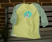 Child's art smock -  age 3 to 4 - Tinkerbell.