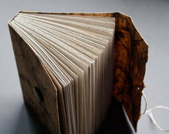 Berkana - flax journal with woven spine
