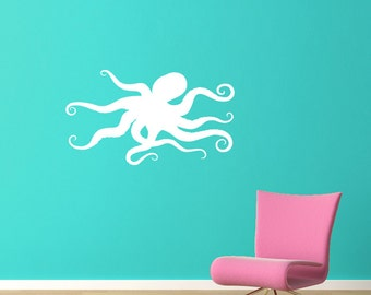 Octopus Decal - Ocean Decor - Octopus Wall Sticker