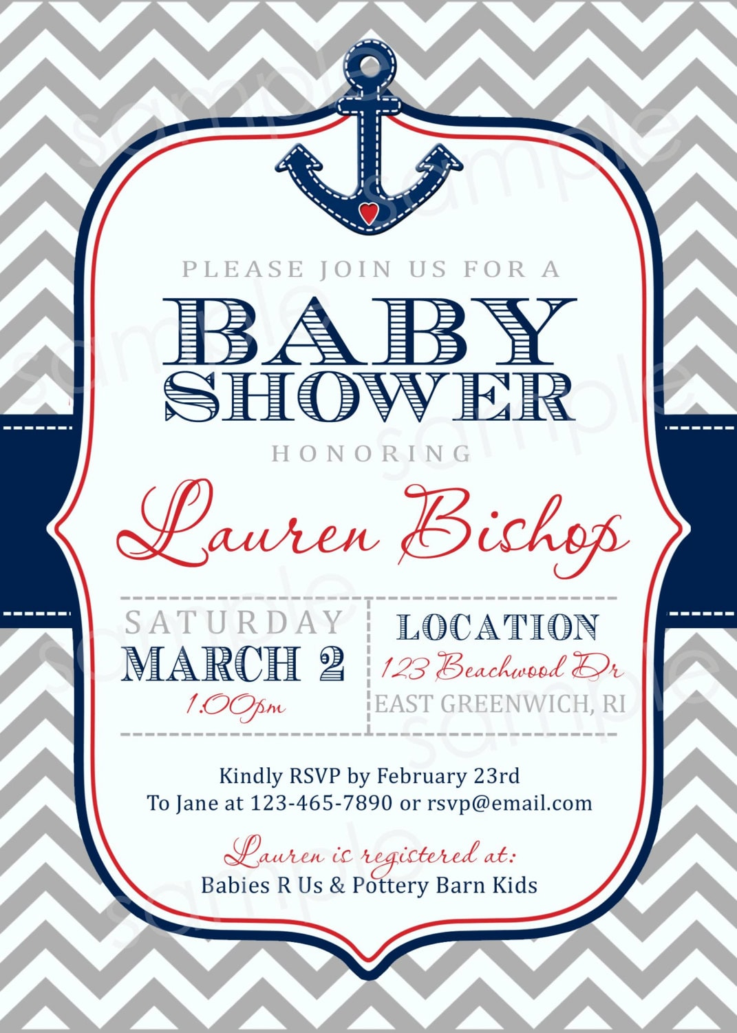 Order Baby Shower Invitations Online with great invitation design
