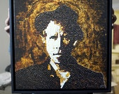 Tom Waits - Coffee and Cigarettes Framed Canvas