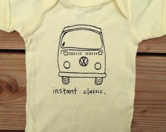 "VW Bus ""Instant Classic"" Baby Bodysuit"