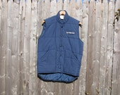 Vintage Sports Illustrated Vest Mens Small