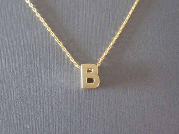 letter a initial necklace gold block letter initial necklace 17416 | il 570xN.461689395 f6ex