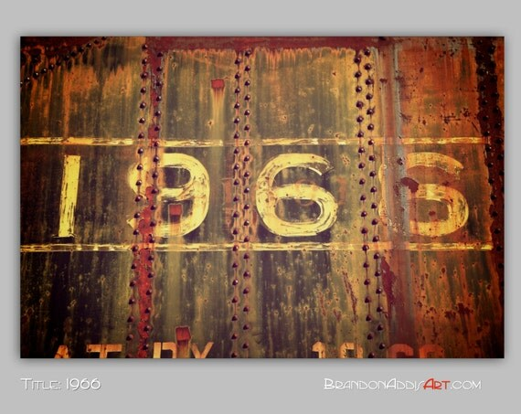 Urban decay 1966 number photo train decor train by for Number 5 decorations