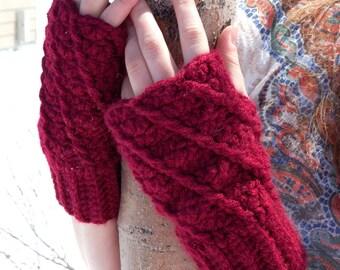 PDF Crochet Pattern - Bree Gloves