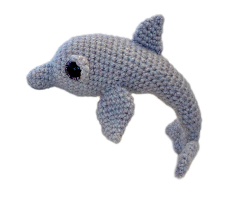 Dolphin Amigurumi Crochet Pattern PDF Instant Download Tasha