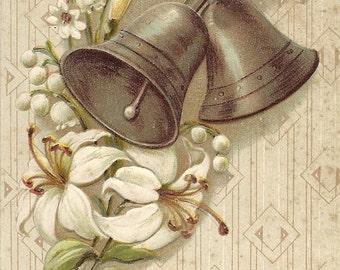 Embossed Easter Postcard