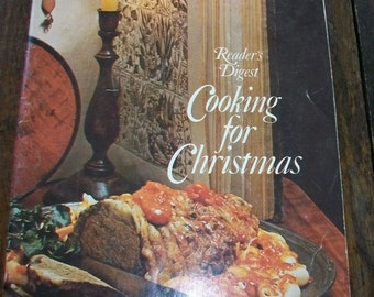 Vintage Cookbook Cooking For Christmas
