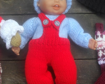 Knitting Patterns For Welsh Dolls : HAND KNITTED Angharad the Welsh Doll. Will by WelshWitchKnitting