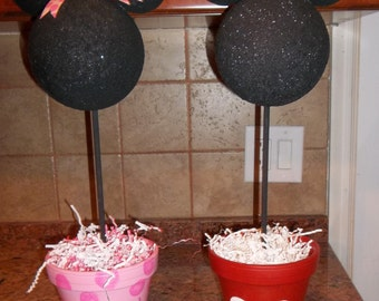 Minnie and Mickey Mouse Centerpeice