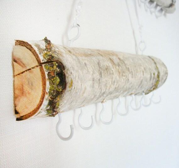 Aspen Branch // SMALL \\ Wall Decor // Jewelry Organizer // Jewelry Hanger // Eco Friendly // Scarf, Belt, Bennie, Orgainizer // Home Decor