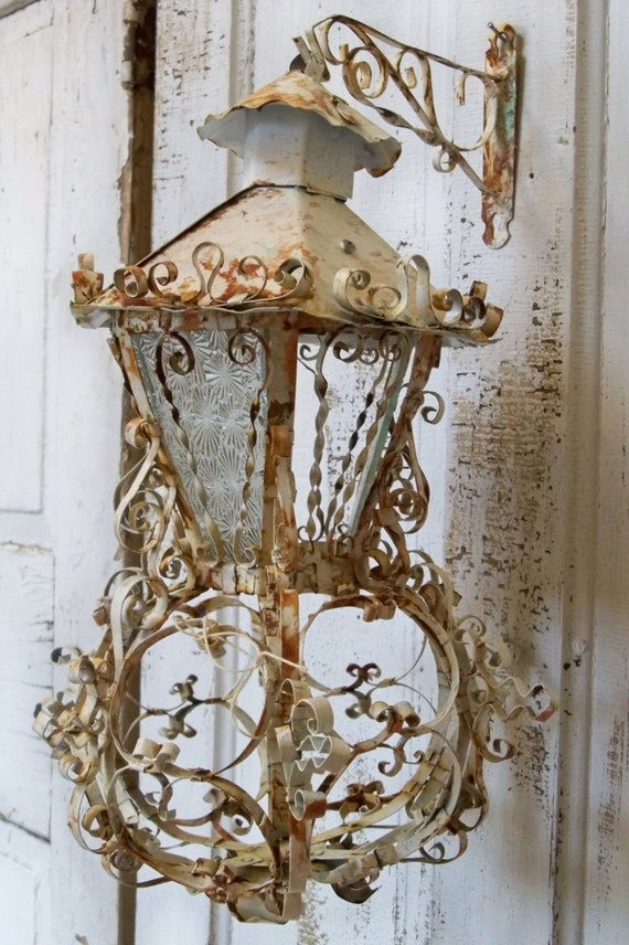 Vintage Wall Sconces With Crystals