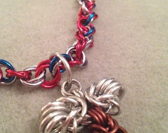 Thor Chainmaille Necklace, Marvel Avengers inspired