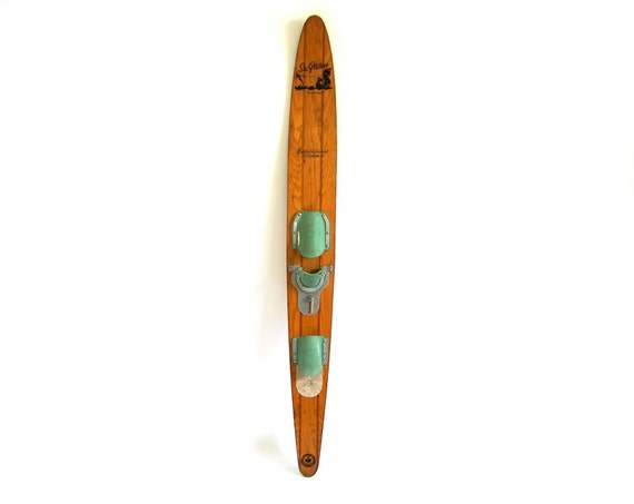 Vintage Wooden Water Skis 6