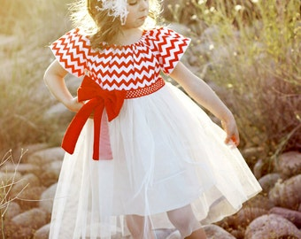 Flower Girl Dress Pattern, Childrens Sewing Pattern PDF, Girls Dress Pattern, Tutu Dress Pattern, Peasant Dress Pattern, TUTU DRESS